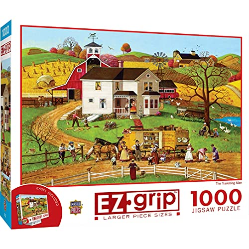 1,000-Pc MasterPieces EZGrip The Travelling Man Jigsaw Puzzle $8 + Free Shipping w/ Amazon Prime or Orders $25+