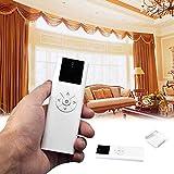 Control remoto para persianas con rodillo eléctrico, 100 - 240 V AC 1/2/6 canales motorizados para cortinas de ventana y persianas, mando a distancia