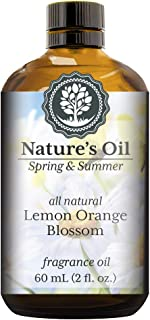Lemon Orange Blossom Fragrance Oil (60ml) For Diffusers, Soap Making, Candles, Lotion, Home Scents, Linen Spray, Bath Bombs, Slime