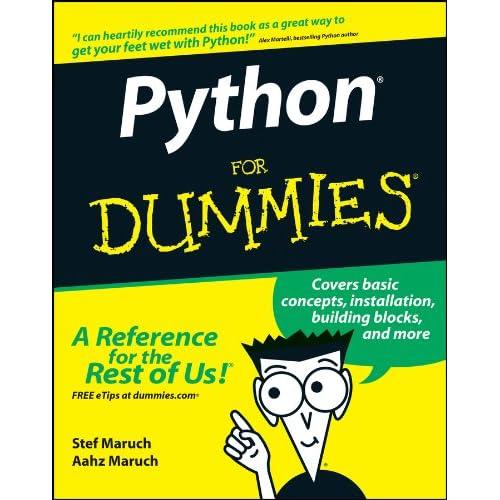 Python For Dummies Amazon Com