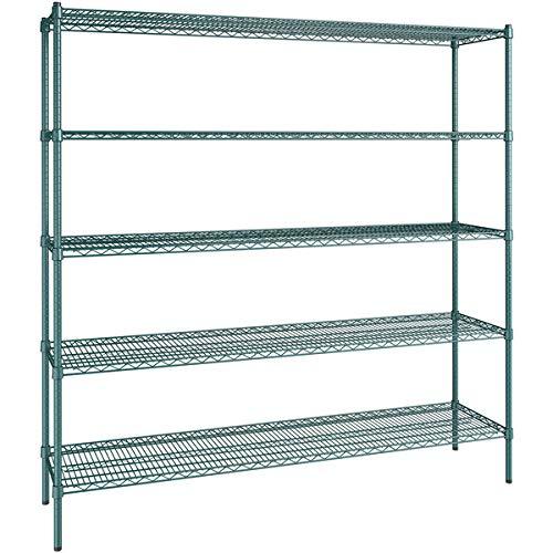 18 inch x 72 Green Epoxy 5 Posts. Shelf with 74 Kit San Diego Mall 2021 model St
