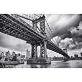 GREAT ART XXL Poster – Manhattan Bridge New York USA –