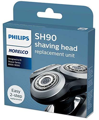 Philips Philips Norelco SH90 / 72 Replacement Heads neue Version der Serie 9000 -