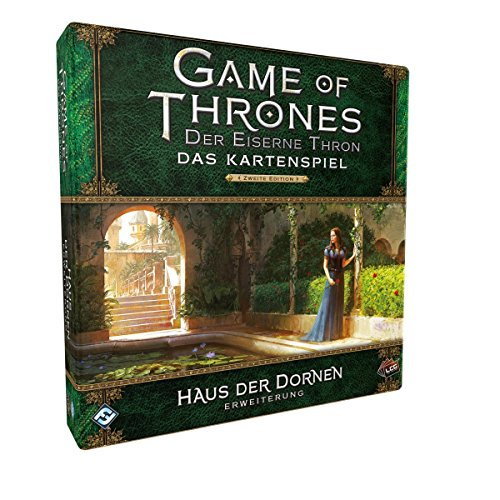 Fantasy Flight Games FFGD2374 GoT: LCG 2.Ed. -Haus der Dornen