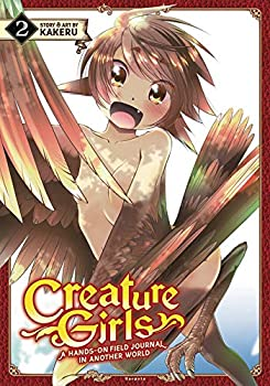 Creature Girls  A Hands-On Field Journal in Another World Vol 2