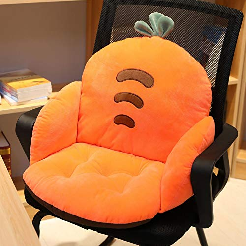 Bebliss Cartoon Semi-Enclosed Chair Cushion Soft Plush Floor Seat Office Home Siamese Cushion Solution for Your Computer Desk Chair at Home or at Work, Truck, Cars, Plane, Recliner