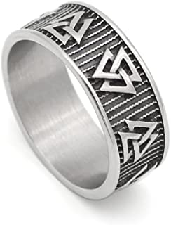 Amazoncom Pagan Symbol Rings Jewelry Clothing Shoes