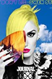 Journal: Gwen Stefani American Singer No Doubt Music Band R&B, Electro, And J-pop, Writing Workbook for Teens & Children, Journals Graph Paper ... Diary • One Subject 6 x 9 • 110 Pages