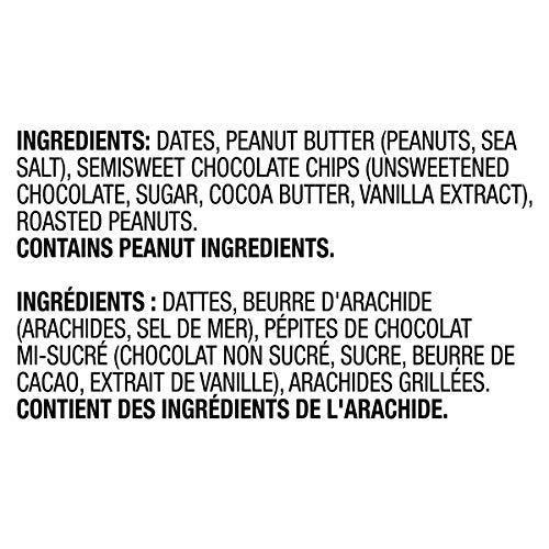 Larabar Gluten Free Peanut Butter Chocolate Chip Fruit and Nut Energy Bar, 16-Count, 720 Gram