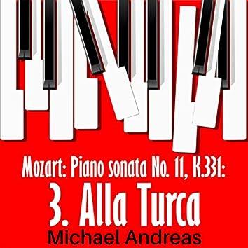 Mozart: Piano sonata No. 11, K.331: 3. Alla Turca