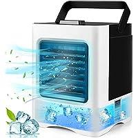 Rechargeable 3-in-1 Mini Air Conditioner Fan, Sterilizer, Humidifier