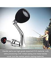 Tbest Metal Rocker Arm Grip Fishing Spinning Reel Handle Grip Reel Replacement Metal Power Handle Grip Part