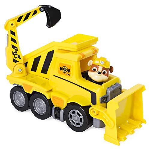 PAW Patrol Ultimate Rescue Basis Fahrzeug mit Figur - Rubble