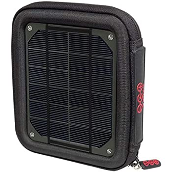 Voltaic Systems Milliamp Portable Solar Charger with Battery Pack (6,400mAh) - Charcoal