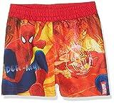 Marvel Jungen Badeshorts Spiderman, Rot, 2-3 Jahre (Herstellergröße:3 Jahre)