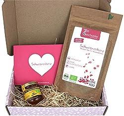BIO Tee-Geschenkset mit Tropenblütenhonig
