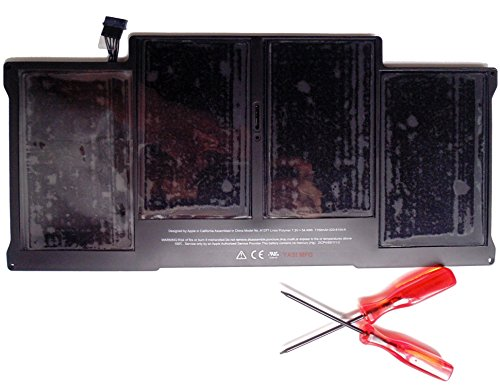 YASI MFG Li-Polymer 7.6V 7150mAh 54.4Wh Akku für Apple MacBook Air 13