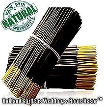 True Sweet Honeysuckle Premium Hand Dipped Incense Sticks - Natural Premium Floral Incense by Oakland Gardens (Honeysuckle (100 Sticks))