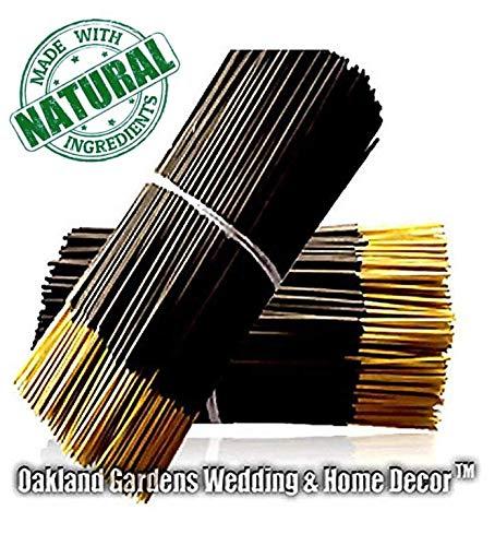 Oakland Gardens Premium Hand Dipped Incense Sticks, You Choose The Scent. 100 Sticks. (Raspberry Sangria)