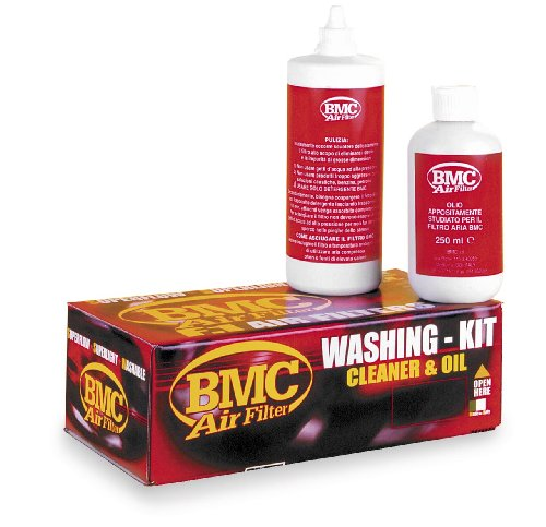 BMC Filtro de Aire – Kit de limpieza para detergente y spr