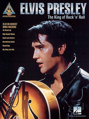 Elvis Presley: The King Of Rock 'n' Roll - Guitar Recorded Versions (Tab): Songbook, Grifftabelle für Gitarre
