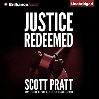 Justice Redeemed audiobook cover art