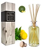 Urban Naturals Lemon Verbena Reed Diffuser Oil Set with Reed Sticks | Tart,...