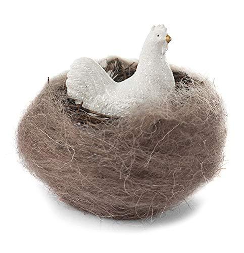 Baden Deko-Aufsteller Huhn im Nest Osterdeko Frühlingsdeko Fensterdeko Tischdeko