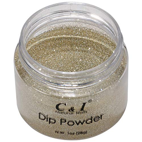 C & I Dip Powder Color No.062 Gold Coast Poudre de couleur Pearl Shine 28 g