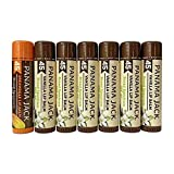 Panama Jack Sunscreen Lip Balm - SPF 45, Vanilla & Dreamsicle 6 Pack Plus, Broad Spectrum UVA-UVB Sunscreen Protection, Prevents & Soothes Dry, Chapped Lips
