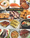 Asian Snacks Notebook