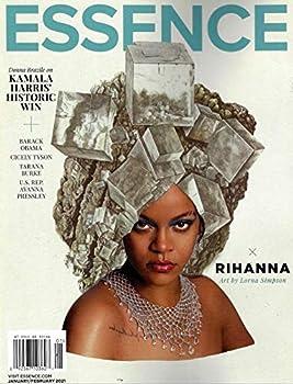 ESSENCE Magazine  January February 2021  RIHANNA Cover KAMALA HARRIS OBAMA