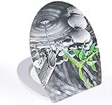 PIAOL 3D-Wassertropfen-Toilettendeckel 38 X 45 3 cm Toilettendeckel Silent Ultra-haltbarer...