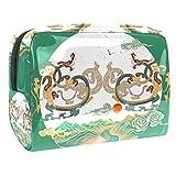 Bolsa de maquillaje portátil para máquina de coser, diseño vintage, para viajes, mujeres y hombres Multicolor Color 8 18.5x7.5x13cm/7.3x3x5.1in