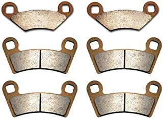 Volar Sintered HH Front & Rear Brake Pads for 2008-2010 Polaris Outlaw 525 S