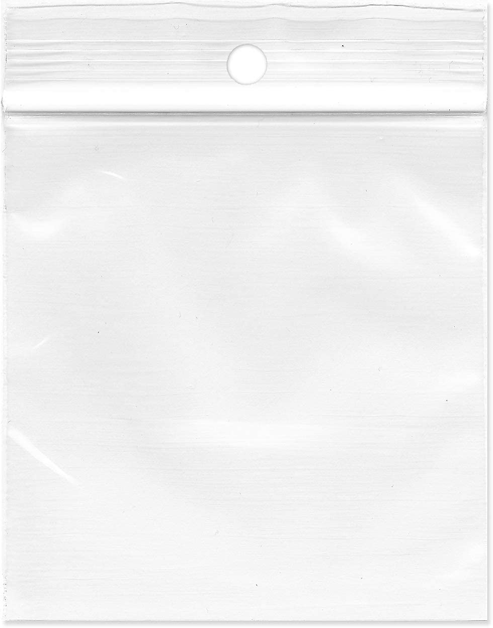 Plymor Zipper Reclosable Plastic Bags Hang-Hole Mil 2 Now on sale with Translated 3