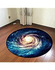 ZXHH Trommel tapijt, rond antislip tapijt, drum rug, drum drum tapijt, geluidsisolerende mat, trommeltapijt voor bas, drum, snare, elektronische trommel, schokdemper verdikt