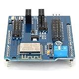 DollaTek ESP8266 WiFi Web Server Shield NodeMCU para Arduino Uno, Mega2560 Similar CC3000