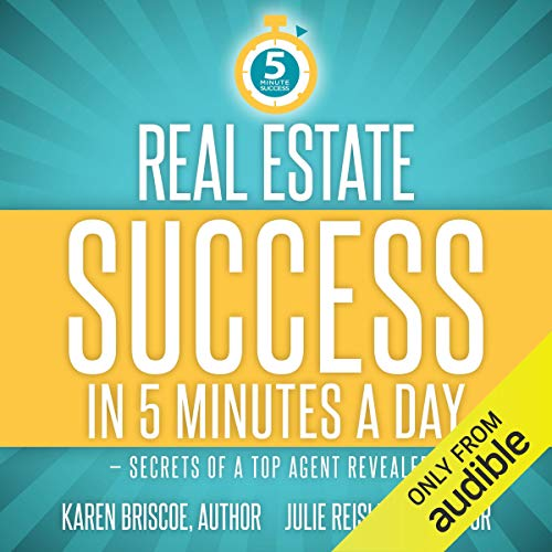 Page de couverture de Real Estate Success in 5 Minutes a Day