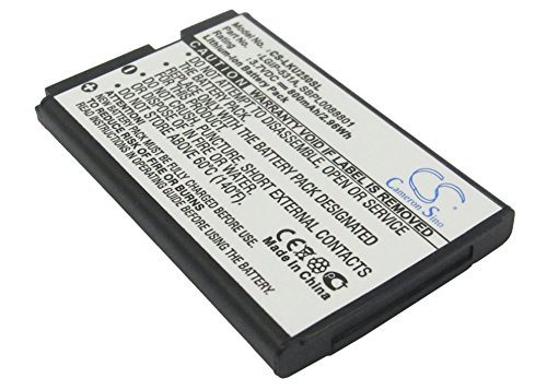 Replacement Battery for LG 236C, 237C, 440G, 500G, A100 Amigo, A170, AN160, B450, B460, B470, B471, C195, Envoy 2, Envoy 3, G320GB, GB100, GB101, GB106, GB110, GB125, GM205, GS101, KG280, KU250