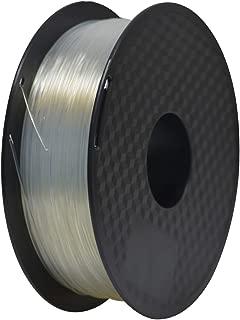 1.75mm PLA 3D Printer Filament,Geeetech PLA Filament,1 Kg Spool(2.2 lbs),Transparent/Clear PLA