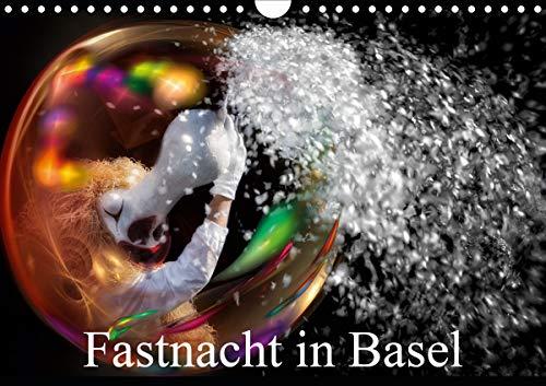 Fastnacht in BaselAT-Version (Wandkalender 2021 DIN A4 quer)