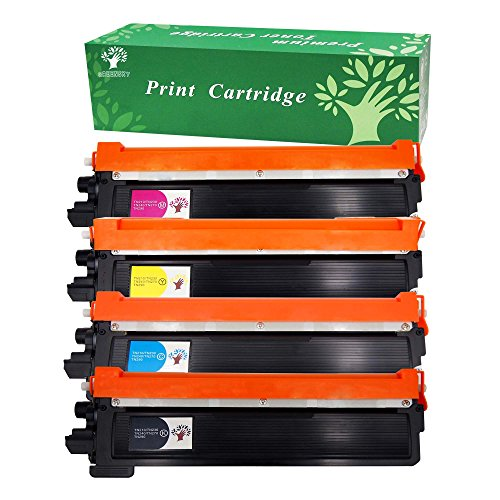 GREENSKY Compatible Toner Cartridge For Brother TN210 TN230 Fit for DCP-9010CN HL-3070CW HL-3075CW MFC-9010CN MFC-9120CN MFC-9125CN MFC-9320CN MFC-9320CW Printers(1Black,1Cyan,1Yellow,1Magenta-4 Pack)