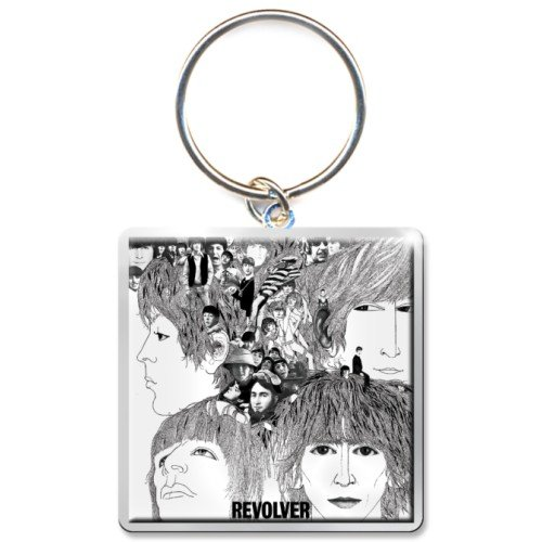 The Beatles Revolver Album Photo Print Keychain
