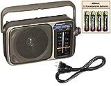 Panasonic RF-2400D Portable AM/FM Radio...