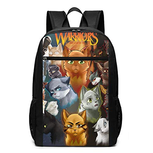CUEVAS VICTORIA Warriors Cats Cool Youth Backpack Shoulder Bag for School