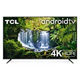 TV TCL 75P616 75 pollici, 4K HDR, Ultra HD, Smart TV con sistema Android 9.0,...