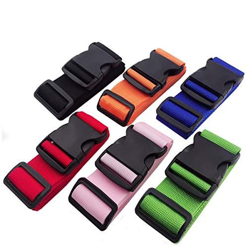 DEEBF 6 PCS Luggage packing belt,Travelling bag,Suitcase Belts,Adjustable Luggage Strap,Suitcase Belt Adjustable