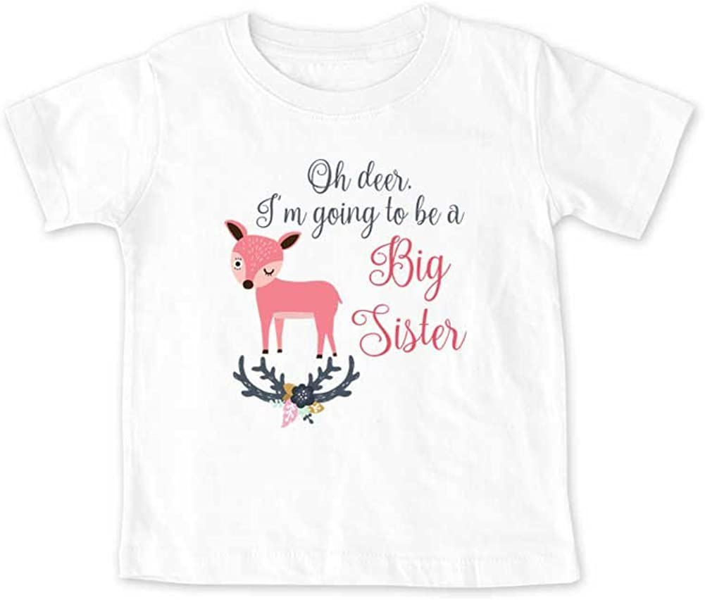 Oh For Fox Sake I/'m Going to be a Big Sister Future Big Sister Promoted to Announcement Shirts Big Sister Shirts Fox Shirts