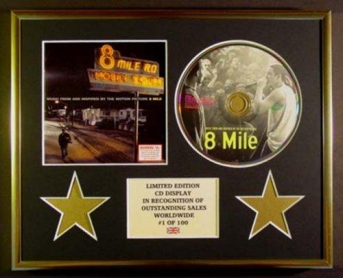 Eminem / CD-Display, limitierte Auflage, 8 Meilen